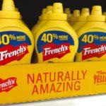 French's 100% Yellow Mustard brand