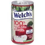Welch's 100% Apple Juice brand
