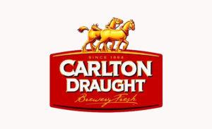 Carlton Draught Beer Brand
