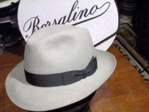 Borsalino hat & logo