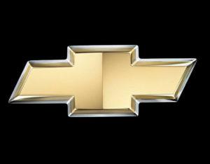 Chevrolet Logo: A golden cross