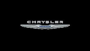 Chrysler Logo: Silver wingtips etched with Chrysler inscription