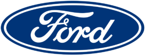 Ford Logo: Blue Oval with a white Ford inscription