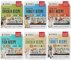 The Honest Kitchen Human Grade Dehydrated Dog Food Brand