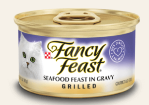 Purina's Fancy Feast Grilled Seafood Canned
