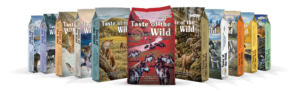 Taste of the Wild dog food brand