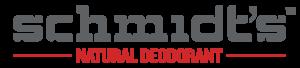 Schmidt's Deodorant Brand Logo