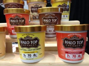 Halo-Top ice cream brand