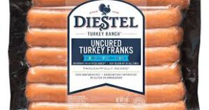 Diestel Uncured Turkey Franks