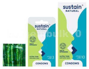 Sustain Natural Condoms Brand