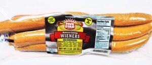 Five Star Brand Jumbo Beef Wieners