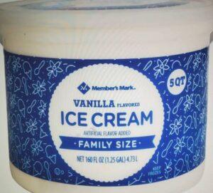 Member's Mark Super-Premium Vanilla Ice Cream