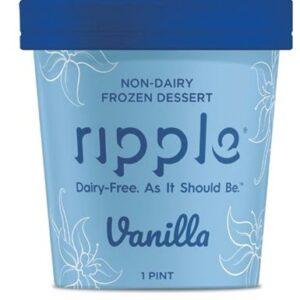 Ripple Vanilla Plant-Based Ice Cream