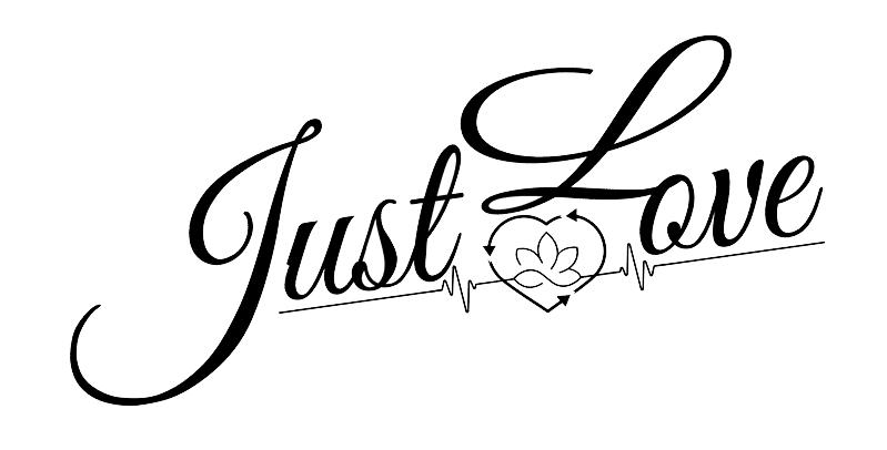Just Love Women's Scrub Set Brand Logo