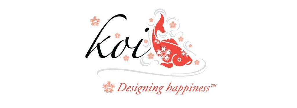 KOI Designing Happiness Brand Logo